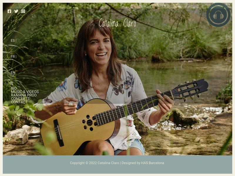Screenshot von http://catalinaclaro.com